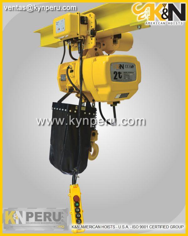tecle-electrico-2t kyn