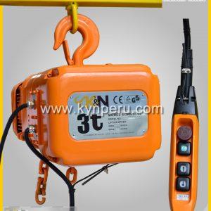 tecle-electrico-3t kyn