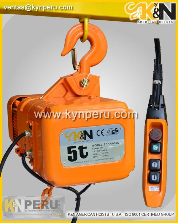 tecle-electrico-5t kyn